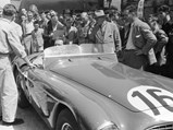 1951 Ferrari 340 America Barchetta by Touring - $Mechanic, Fernand Seewald, with chassis 0116/A at Le Mans 1952.