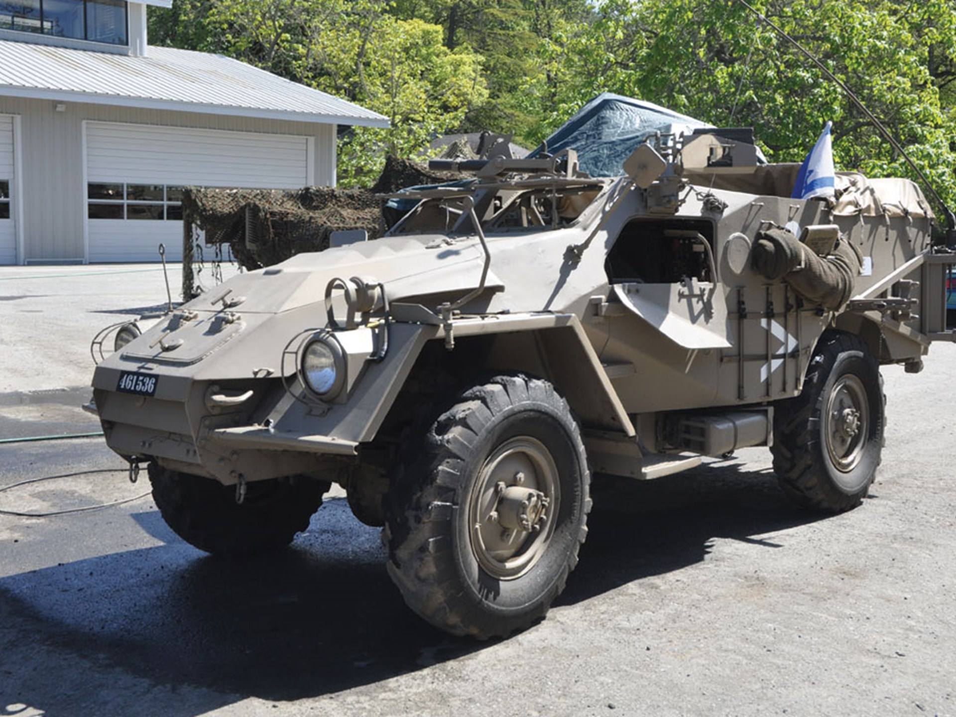 RM Sotheby's - BTR-40 4x4 Armored Personnel Carrier   The