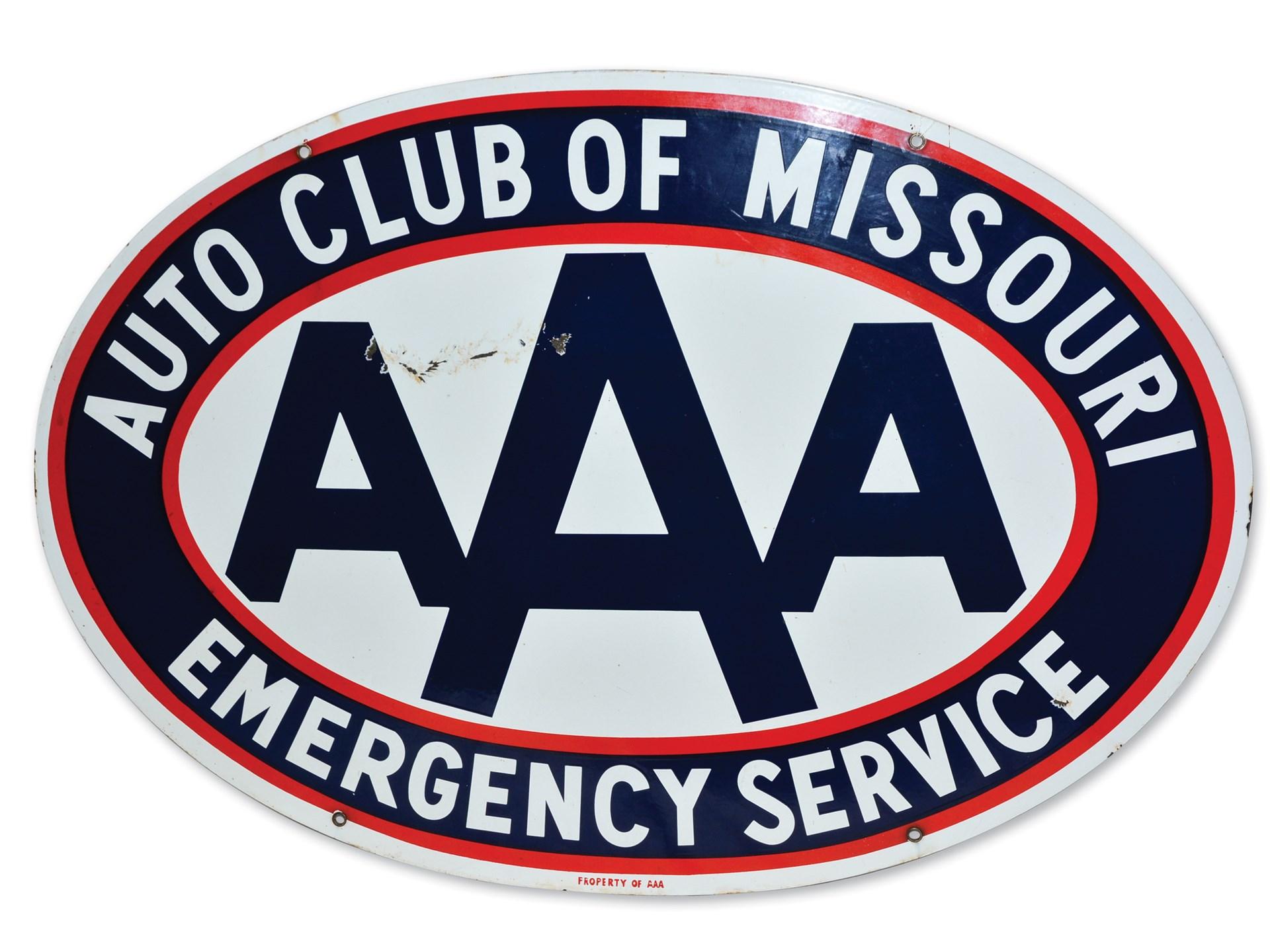Aaa Auto Club Near Me >> Rm Sotheby S Aaa Auto Club Of Missouri Emergency Service Sign