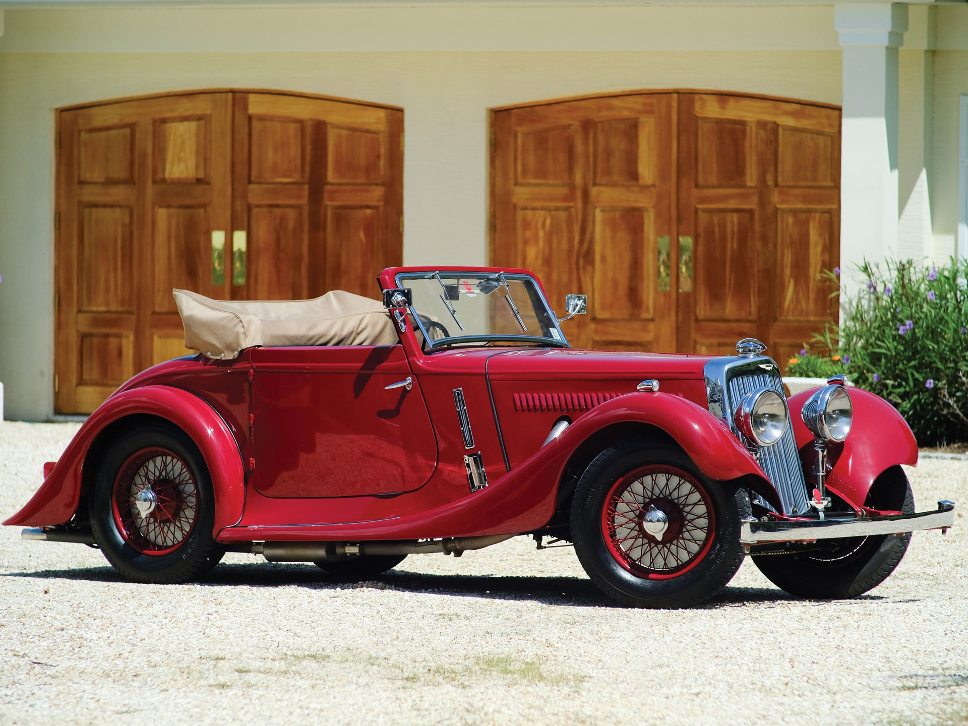 rm sotheby's - 1937 aston martin 15/98 short-chassis drophead coupe
