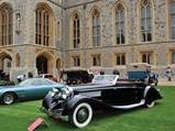 1935 Hispano-Suiza K6 Cabriolet by Brandone - $The Hispano-Suiza on display at the 2016 Concours of Elegance at Windsor Castle.
