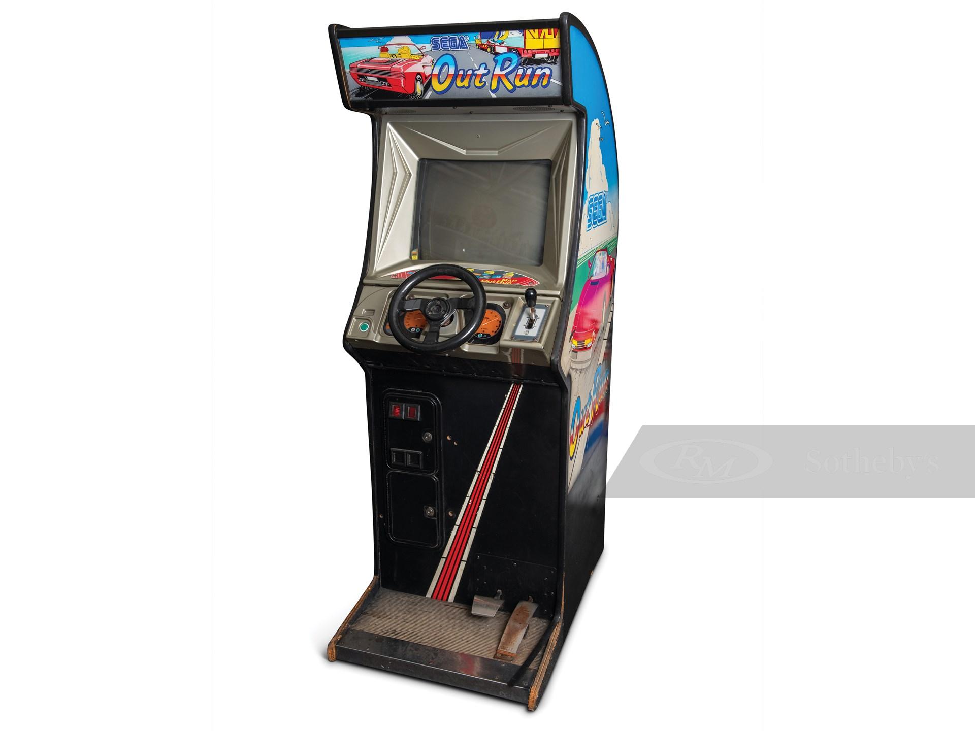 Out Run Arcade Game by SEGA -