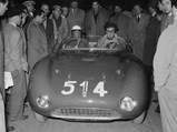 1953 Ferrari 166 MM Spider  - $ Driver Alberico Cacciari alongside R.H. Bill Mason in chassis 0272 at the 1953 Mille Miglia.