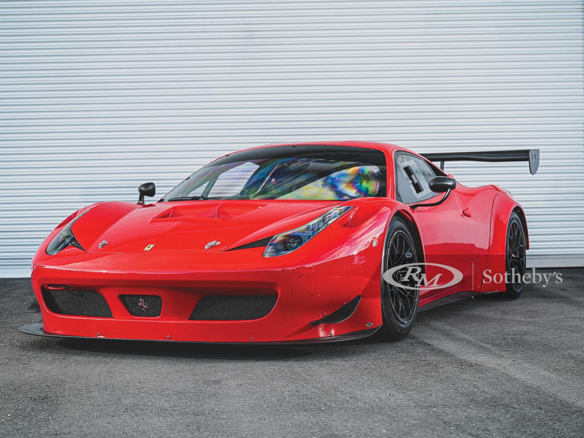 2014 Ferrari 458 Italia Gt3 Arizona 2020 Rm Sotheby S