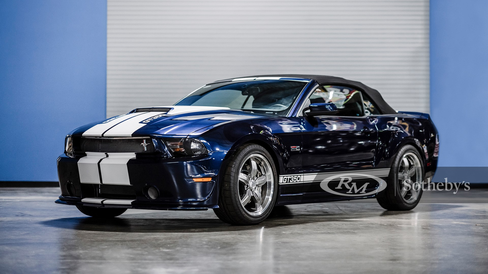 RM Sotheby's Arizona Scottsdale 2021, Blog, 2012 Ford Shelby GT350 Convertible