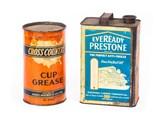 Automotive Tin Cans - $