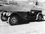 1937 Bugatti Type 57SC Tourer by Corsica - $Chassis 57512 as it appeared when new and first registered in the UK as DXP 970.