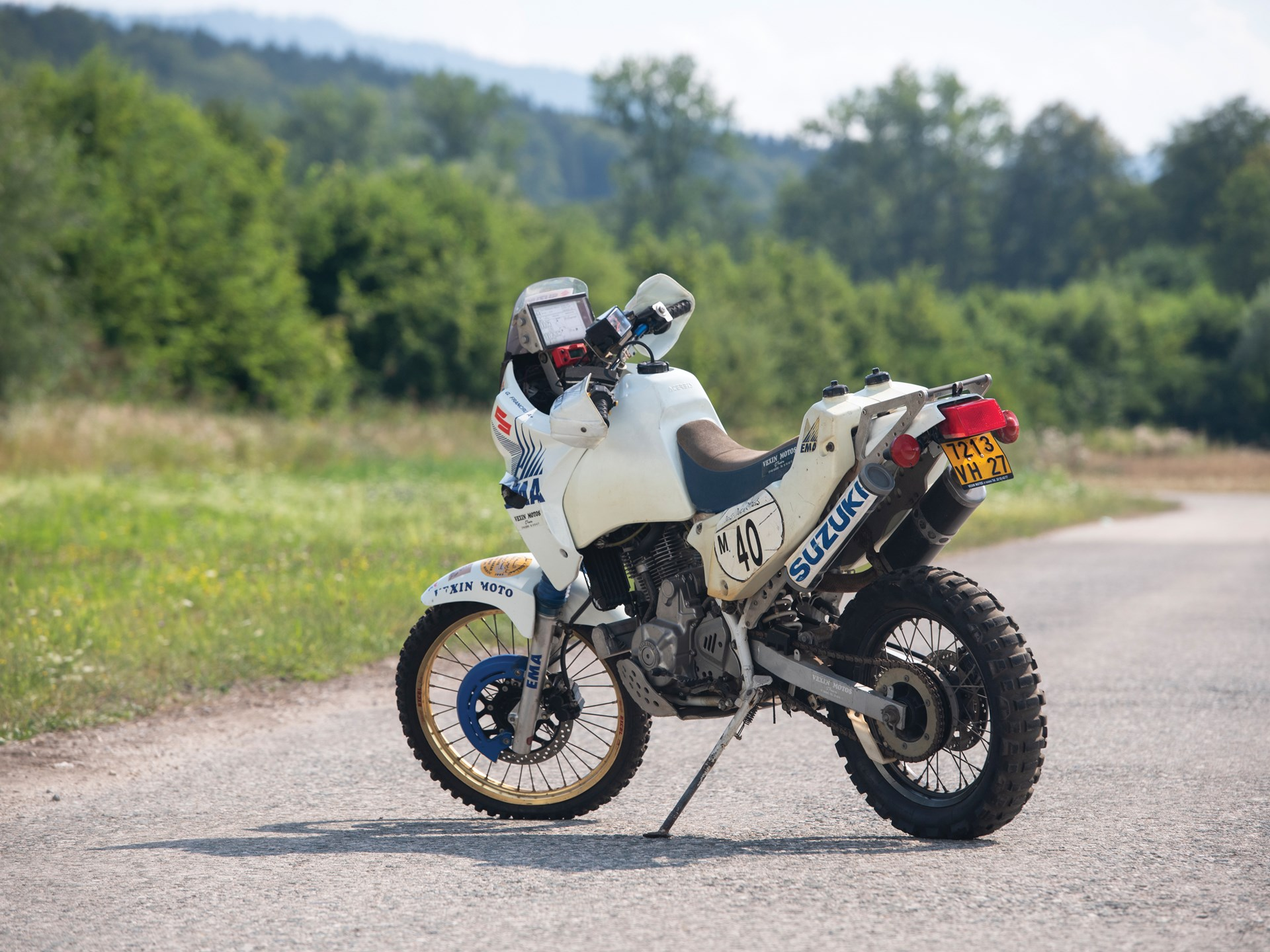 1993 Suzuki DR650 Paris-Dakar