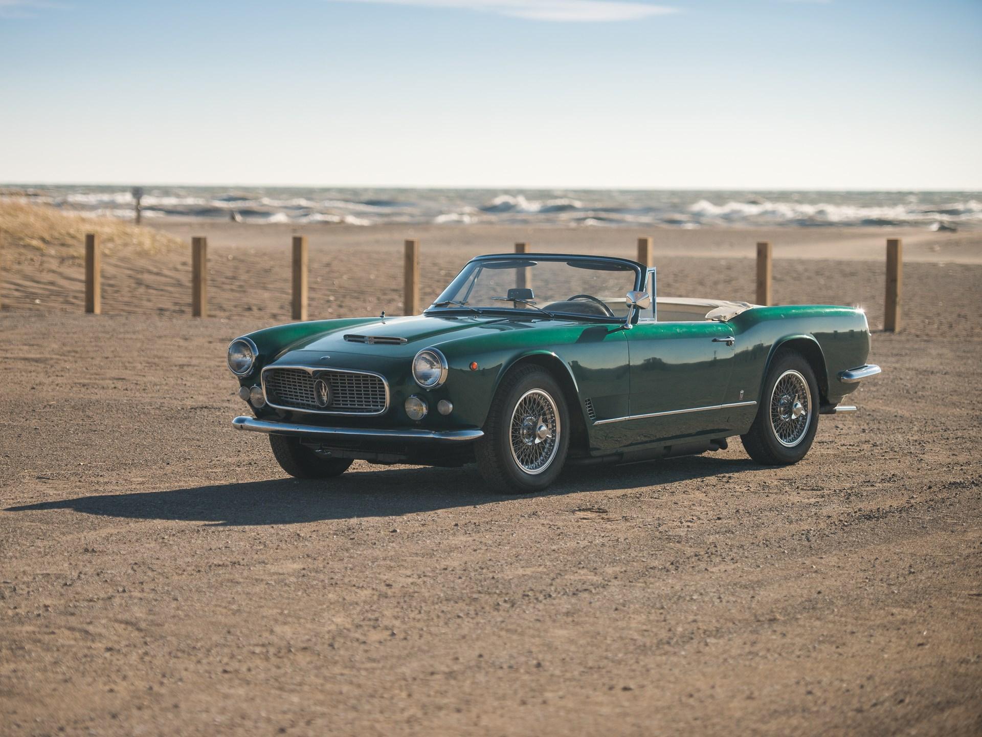 1962 Maserati 3500 GTi Spyder by Vignale | Arizona 2018 ...