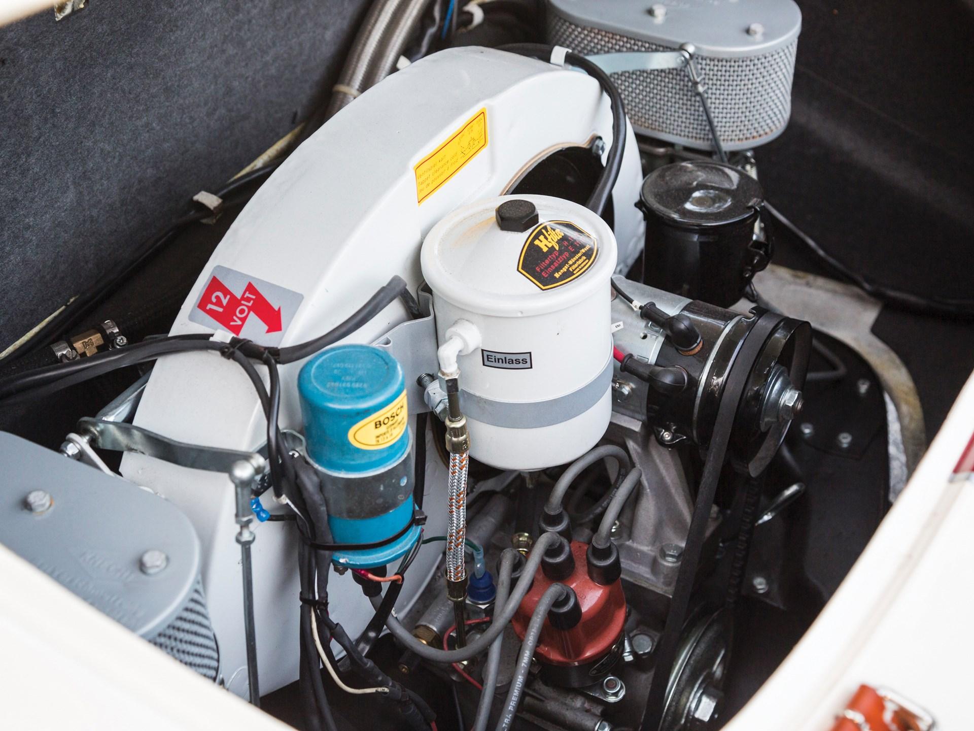 1960 Porsche 356 B Super 90 Coupe by Reutter