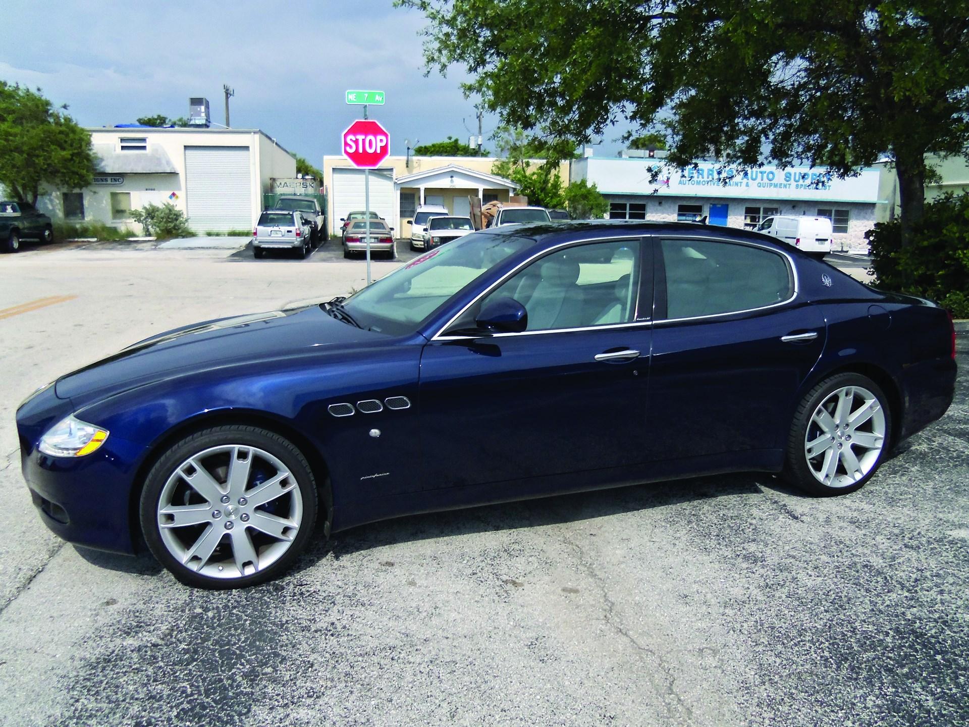 RM Sotheby\'s - 2009 Maserati Quattroporte Executive GT   Santa ...