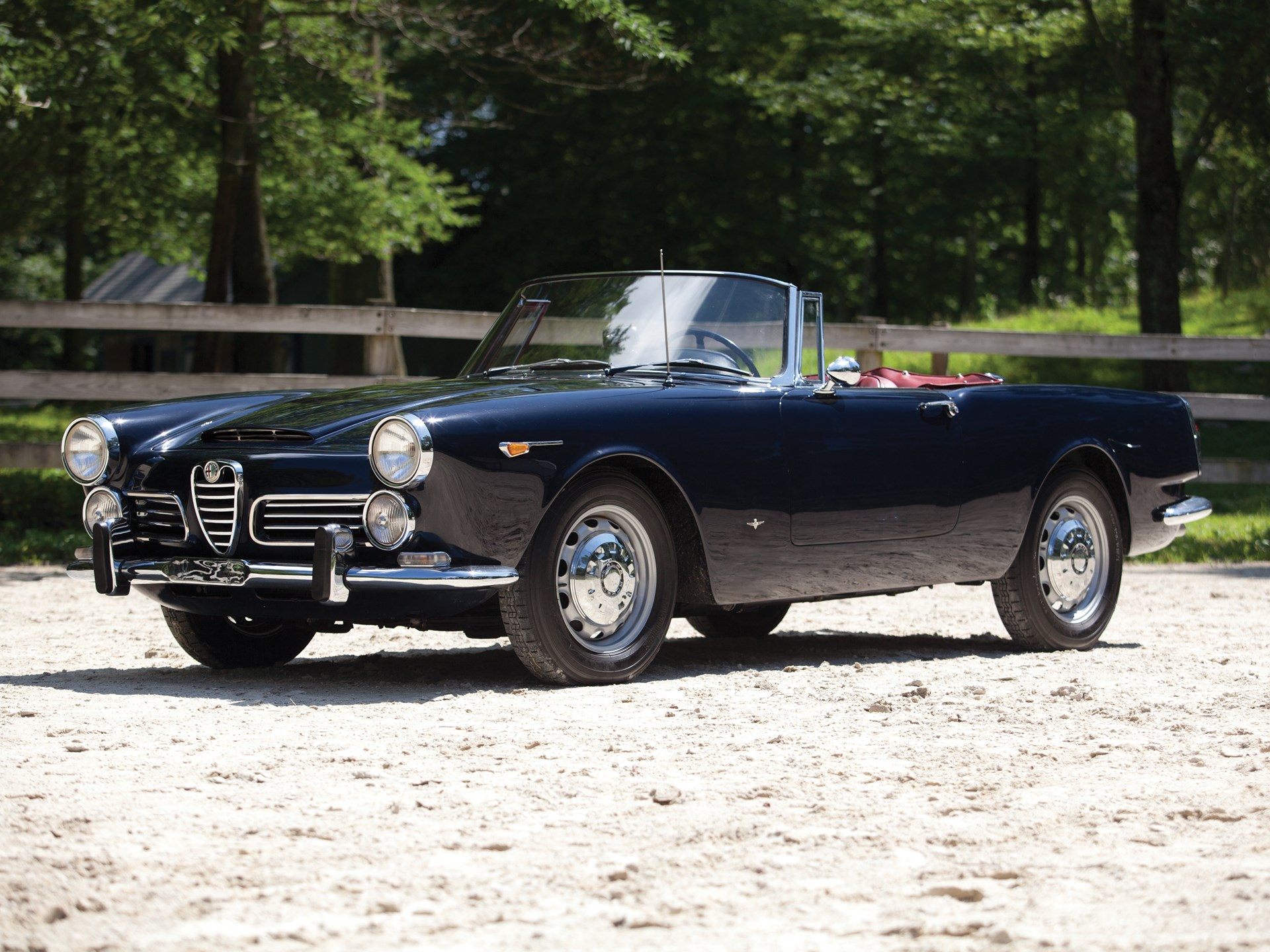 1965 Alfa Romeo 2600 Spider by Touring