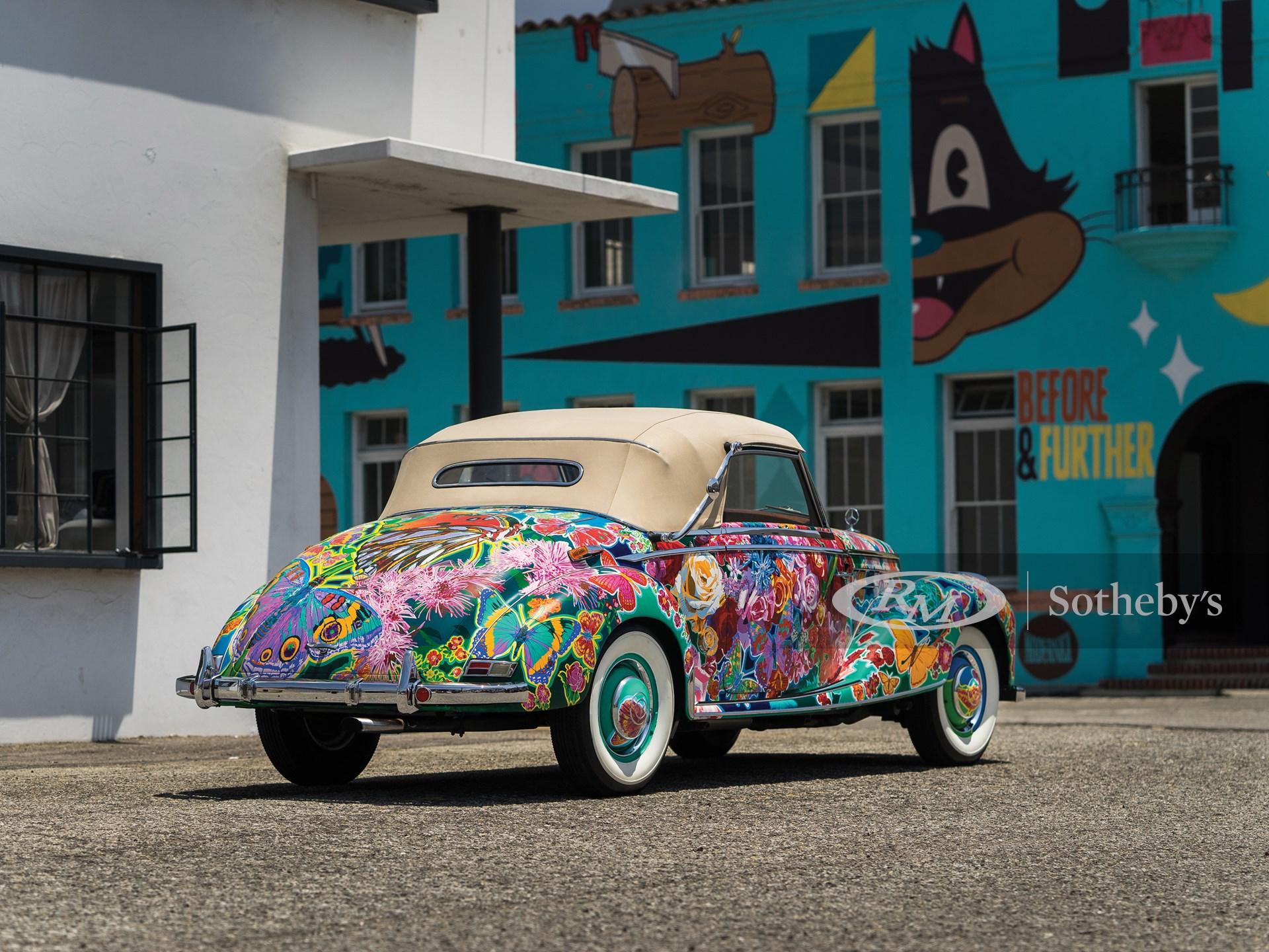 """1952 Mercedes-Benz 220 Cabriolet A """"Rose Garden"""" by Hiro Yamagata -"""