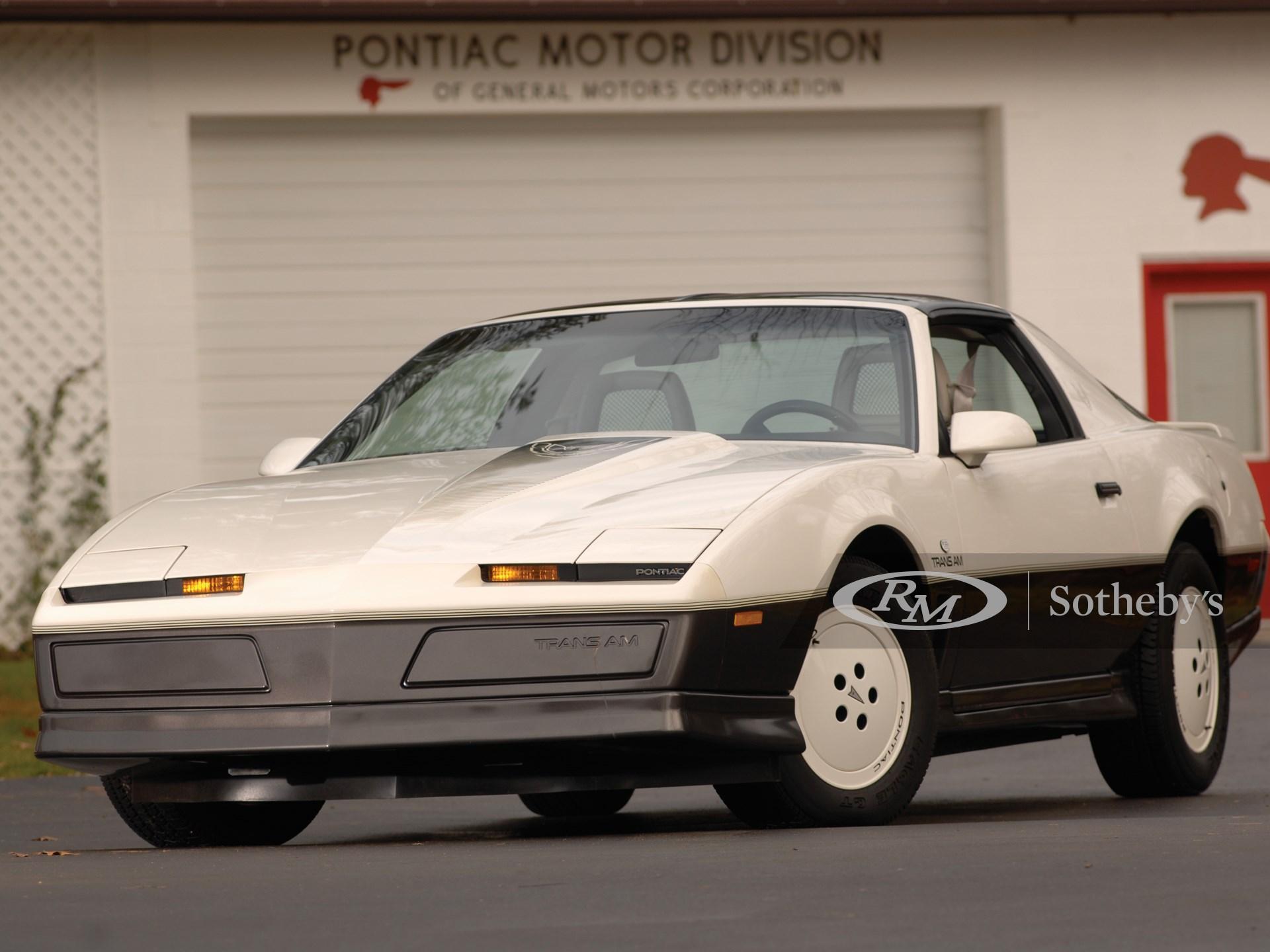 1983 Pontiac Trans Am Daytona 500 25th Anniv. Special Edition