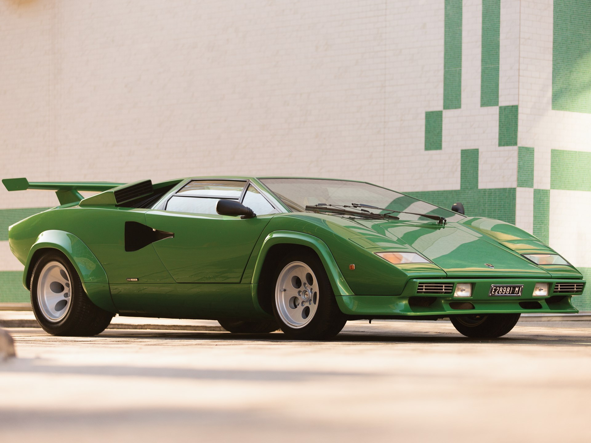 Rm Sotheby S 1981 Lamborghini Countach Lp400 S Series Iii By