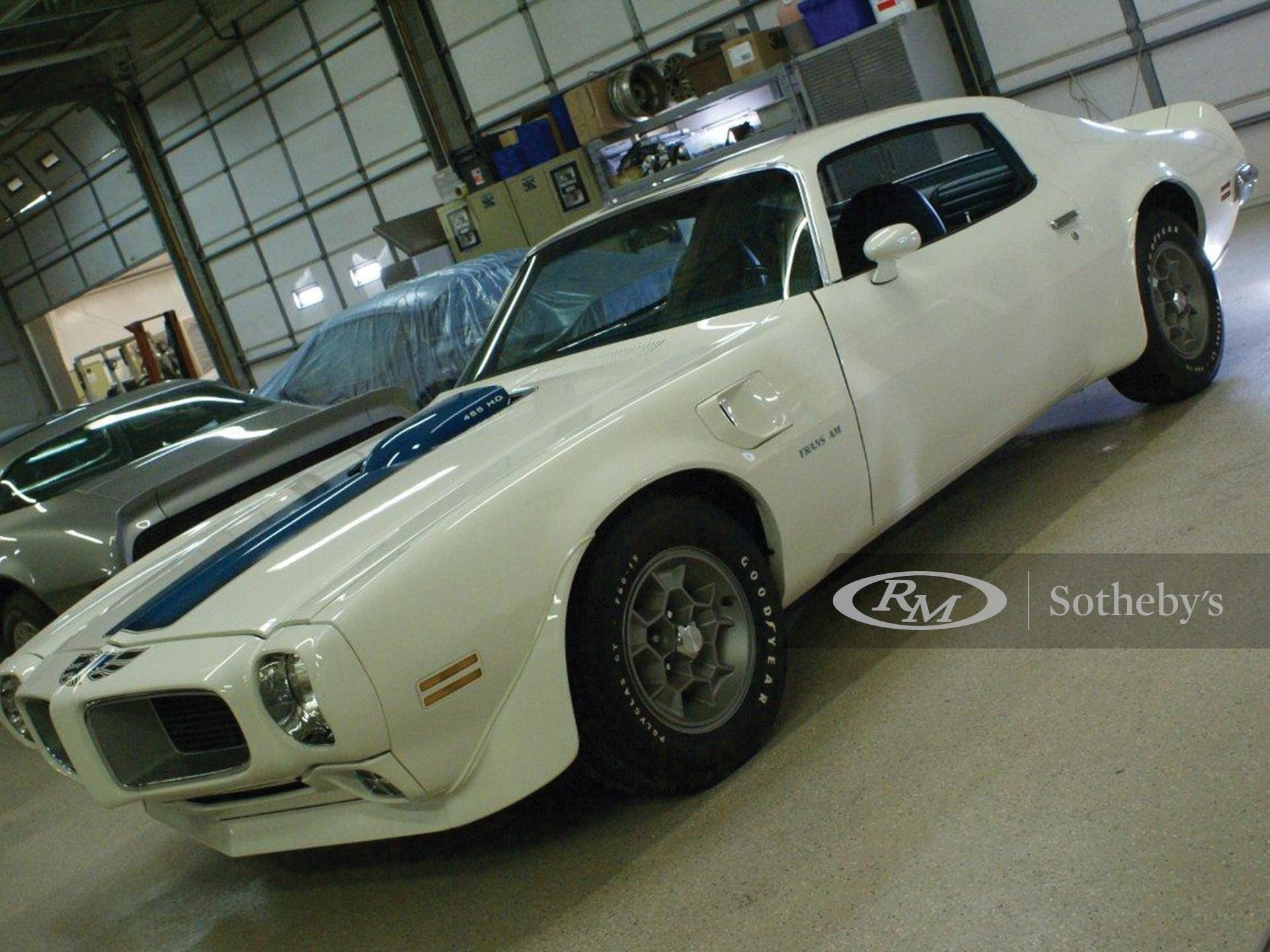 1971 Pontiac Trans Am 455 H.O.