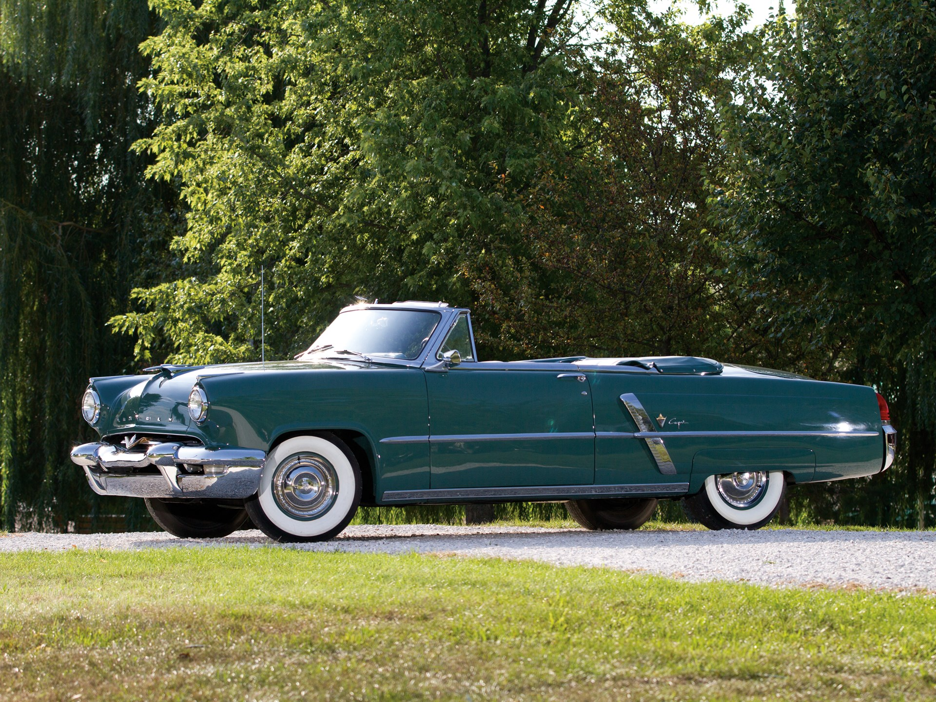 1953 Lincoln Capri Convertible Specifications Continental Rm Sothebys The Charlie Thomas 1920x1440