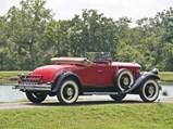 1929 Pierce-Arrow Model 125 Roadster  - $