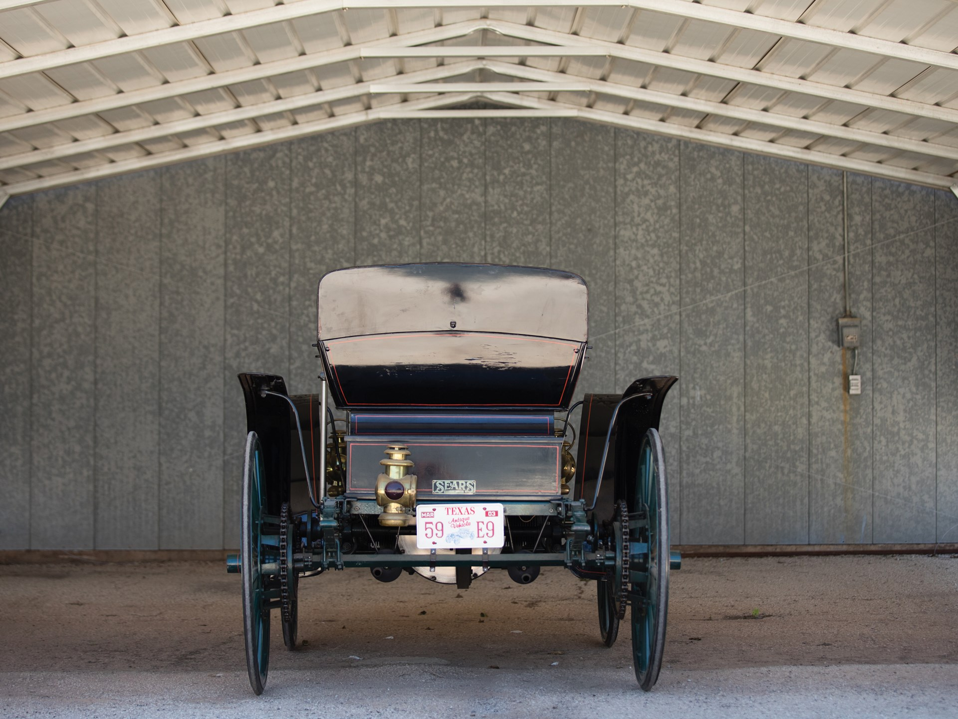 RM Sotheby's - 1909 Sears Model J Motor Buggy | Hershey 2017