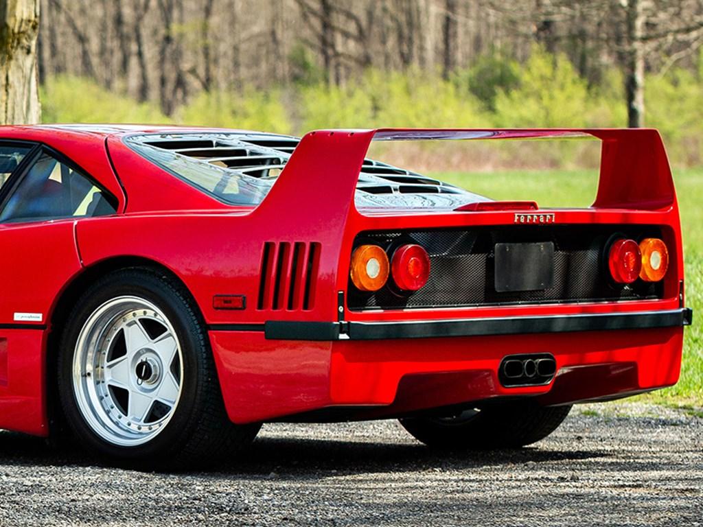 1992 Ferrari F40 offered at RM Sothebys Amelia Island Live Auction 2021