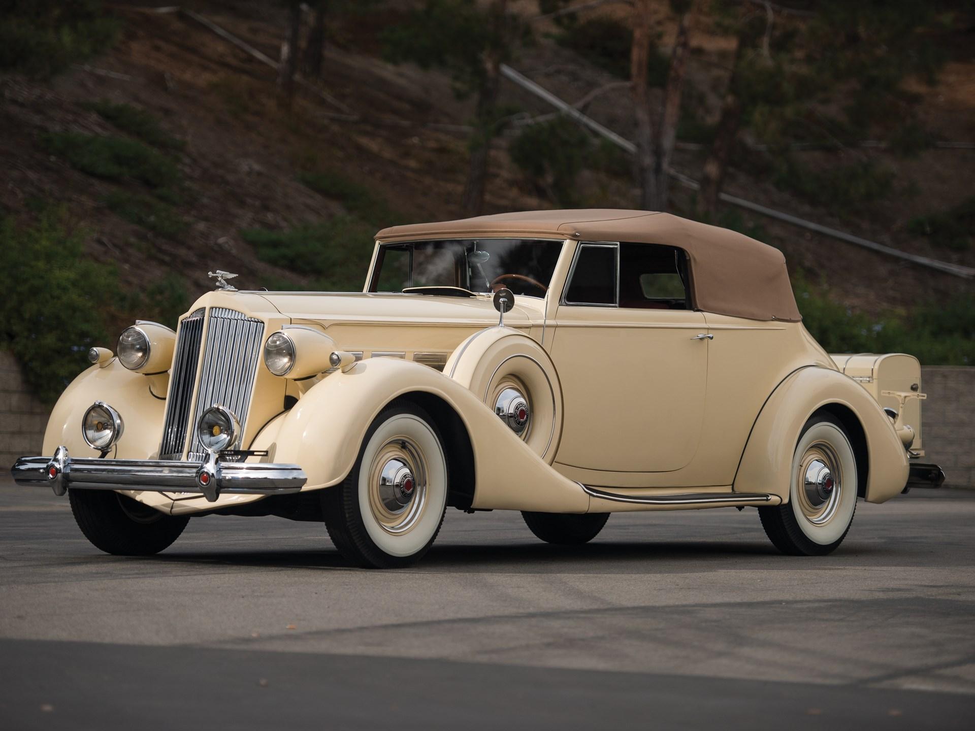 RM Sotheby's - 1937 Packard Super Eight Convertible Victoria