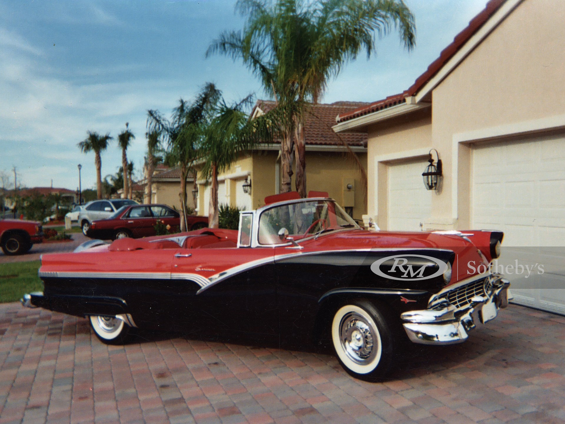 1956 Ford Sunliner Convertible  -