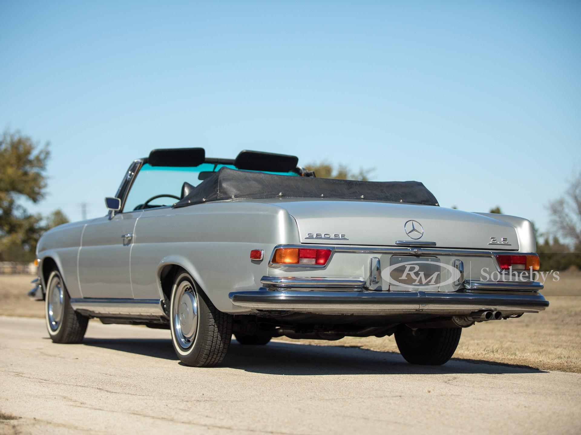 1971 Mercedes-Benz 280 SE 3.5 Cabriolet  -