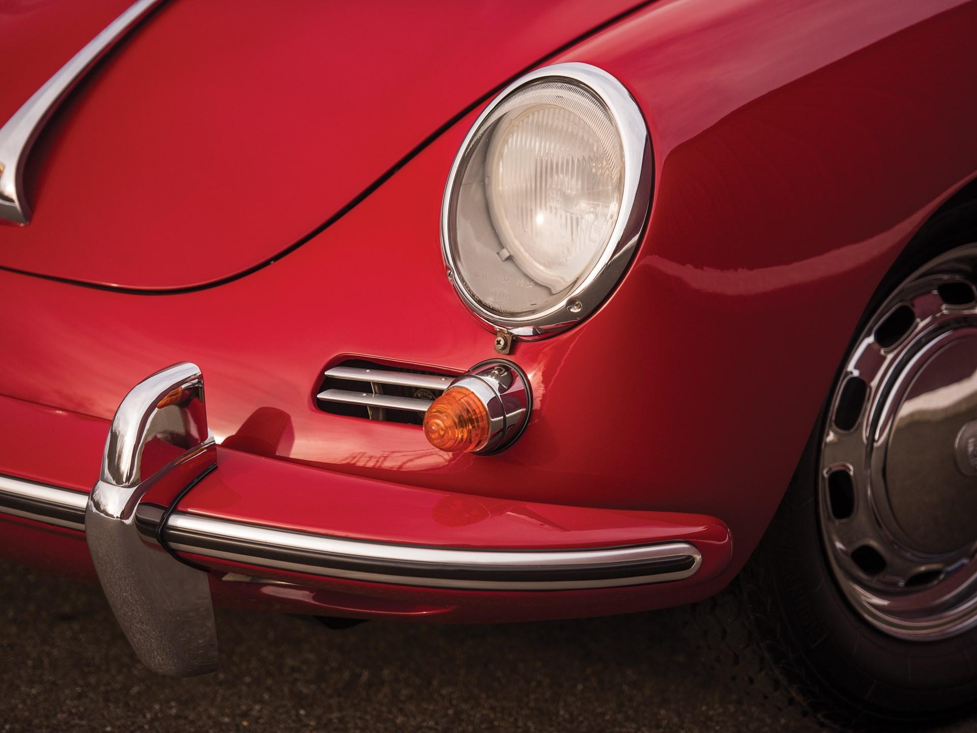 1965 Porsche 356 C 1600 C Cabriolet by Reutter