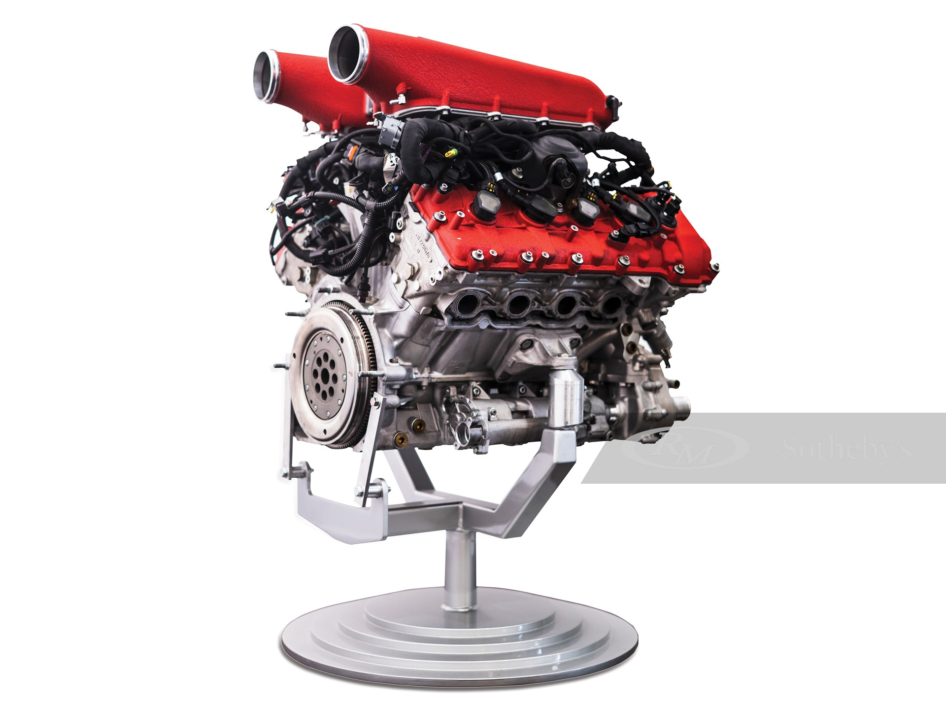 Ferrari 458 Engine, No. 189773, with Stand -