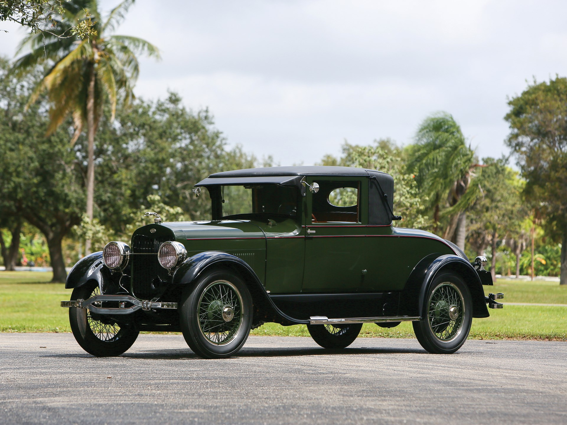 1925 Lincoln Model L Coupe by Judkins