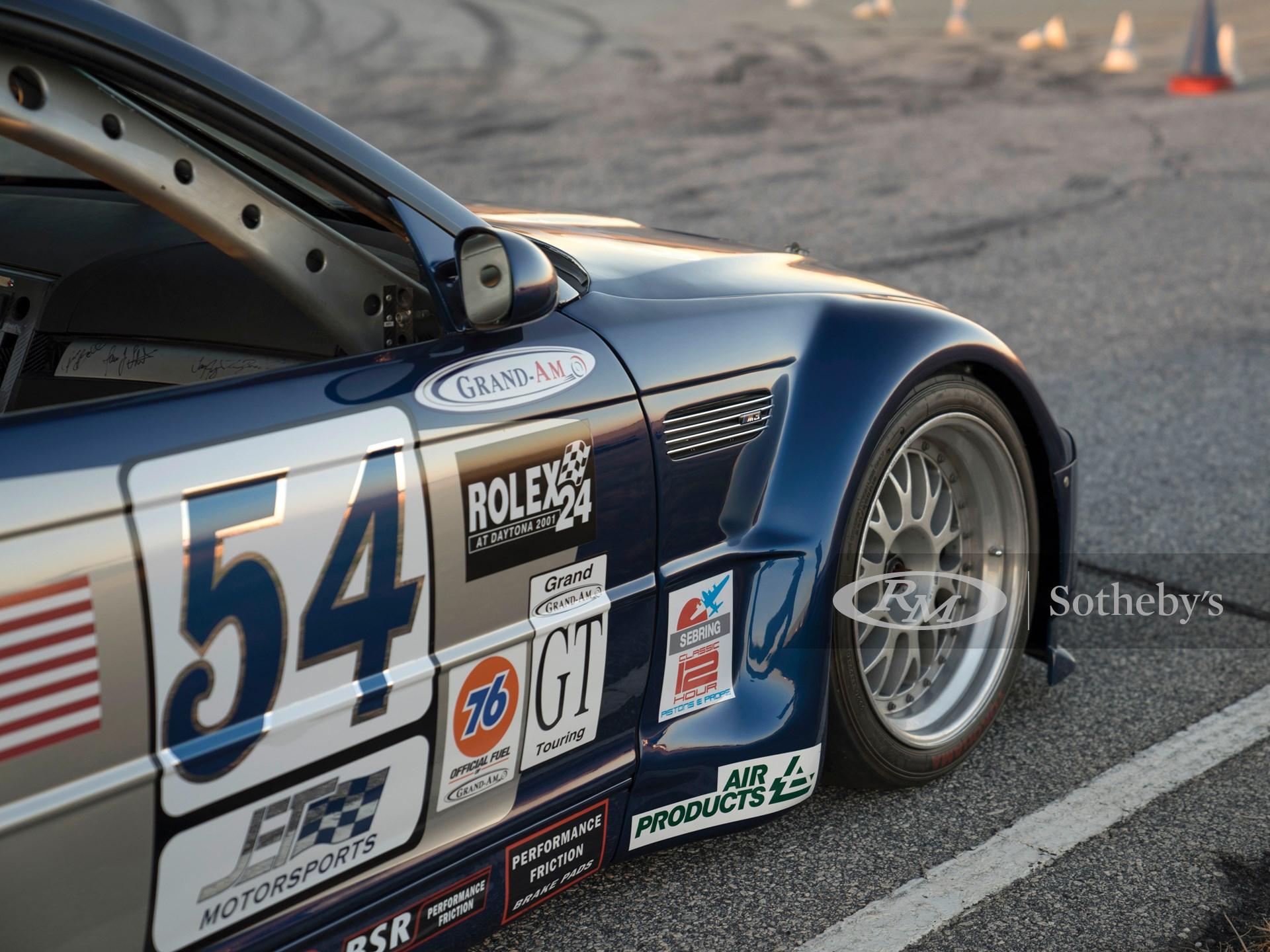 2001 BMW PTG M3 GT V8 Grand-Am  -