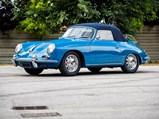 1960 Porsche 356 B Super 90 Cabriolet by Reutter - $