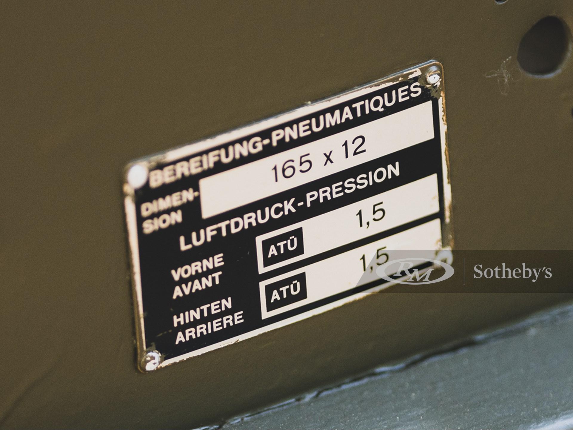 1962 Steyr-Puch Haflinger Series II  -