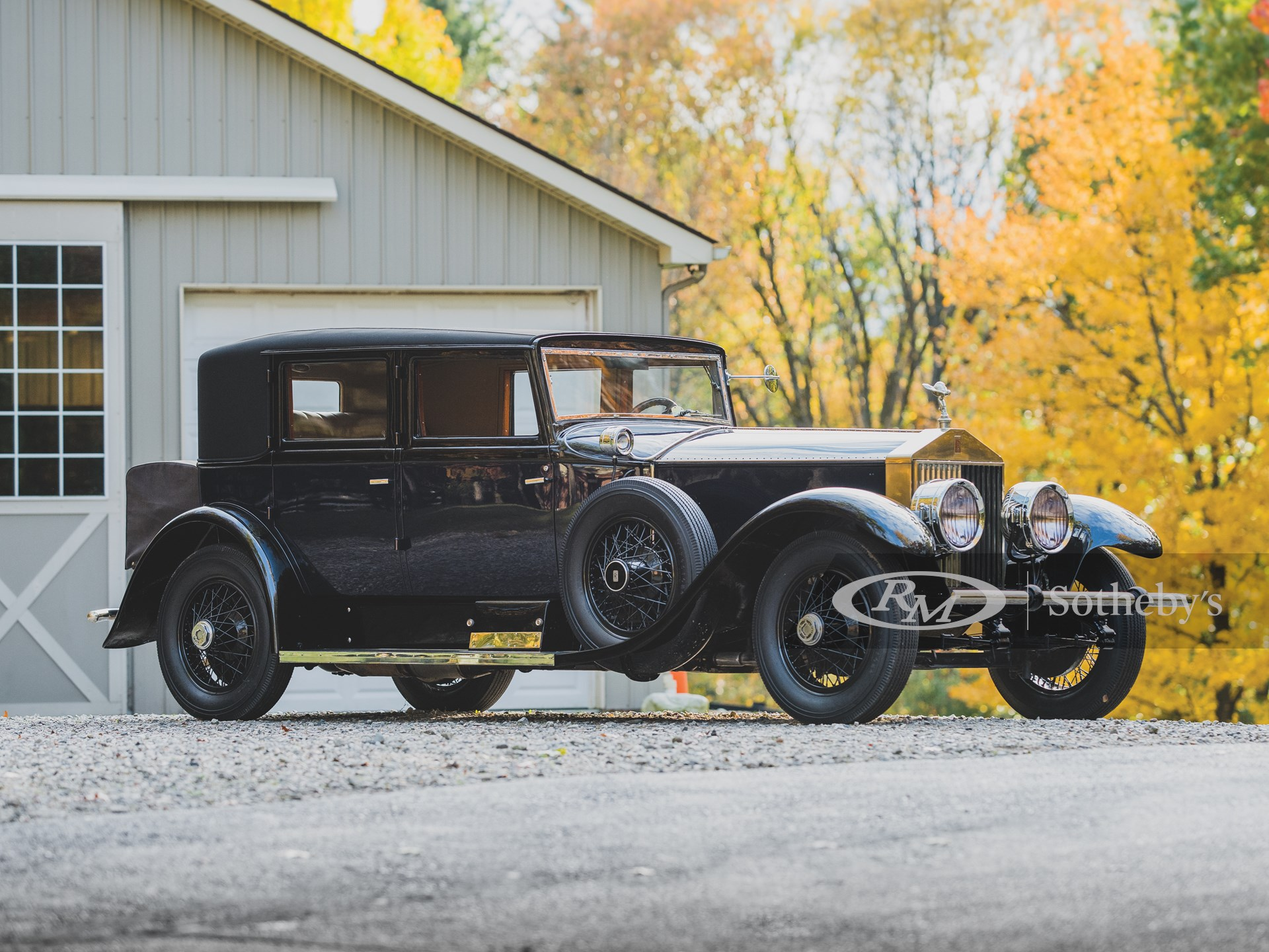 1927 Rolls-Royce Phantom I Avon Sedan by Brewster -