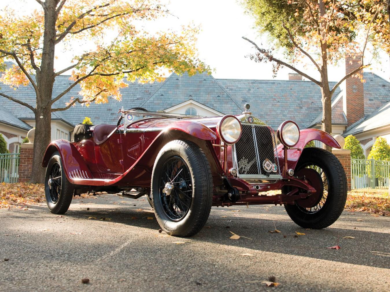 1931 Alfa Romeo 6C 1750 Gran Sport Spider By Zagato
