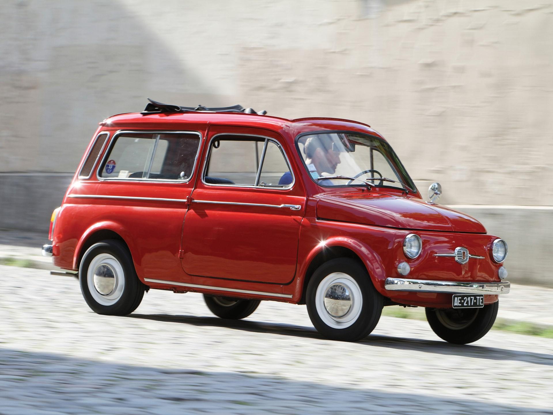 Rm Sotheby S 1962 Fiat 500 Giardiniera London 2017