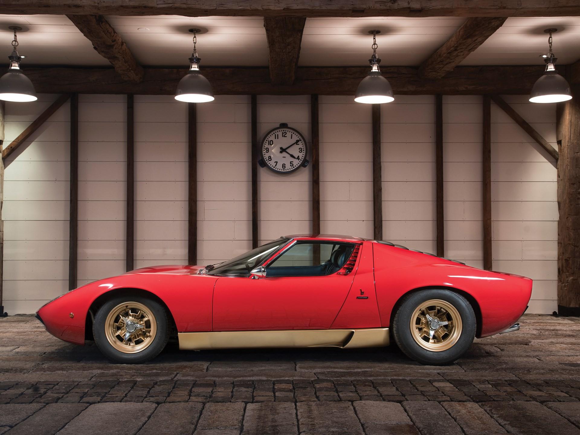 Rm Sotheby S 1971 Lamborghini Miura P400 Sv By Bertone Arizona 2017