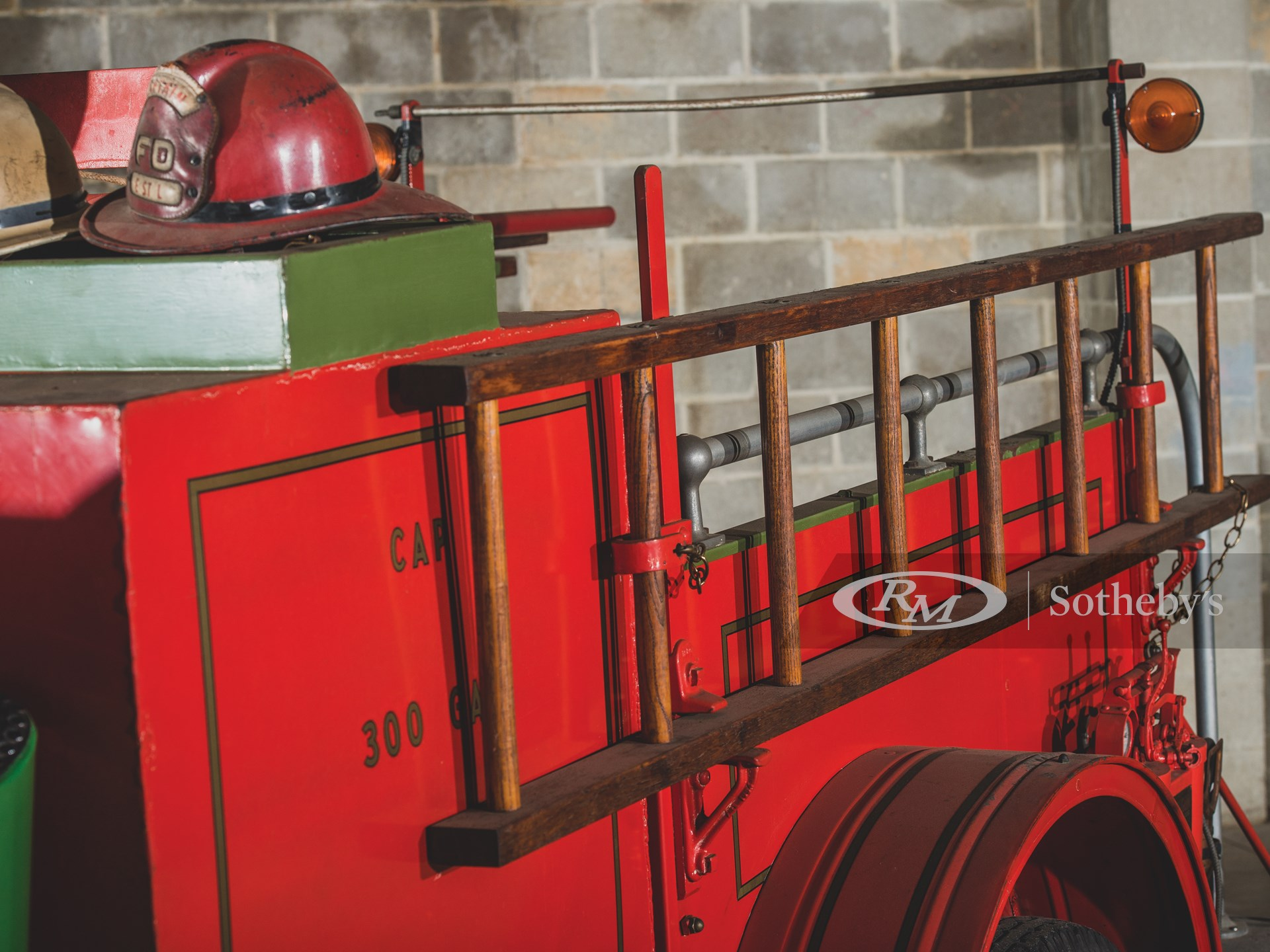 1931 Chevrolet Series LT 1½-Ton Triple-Combination Fire Pumper by Boyer -