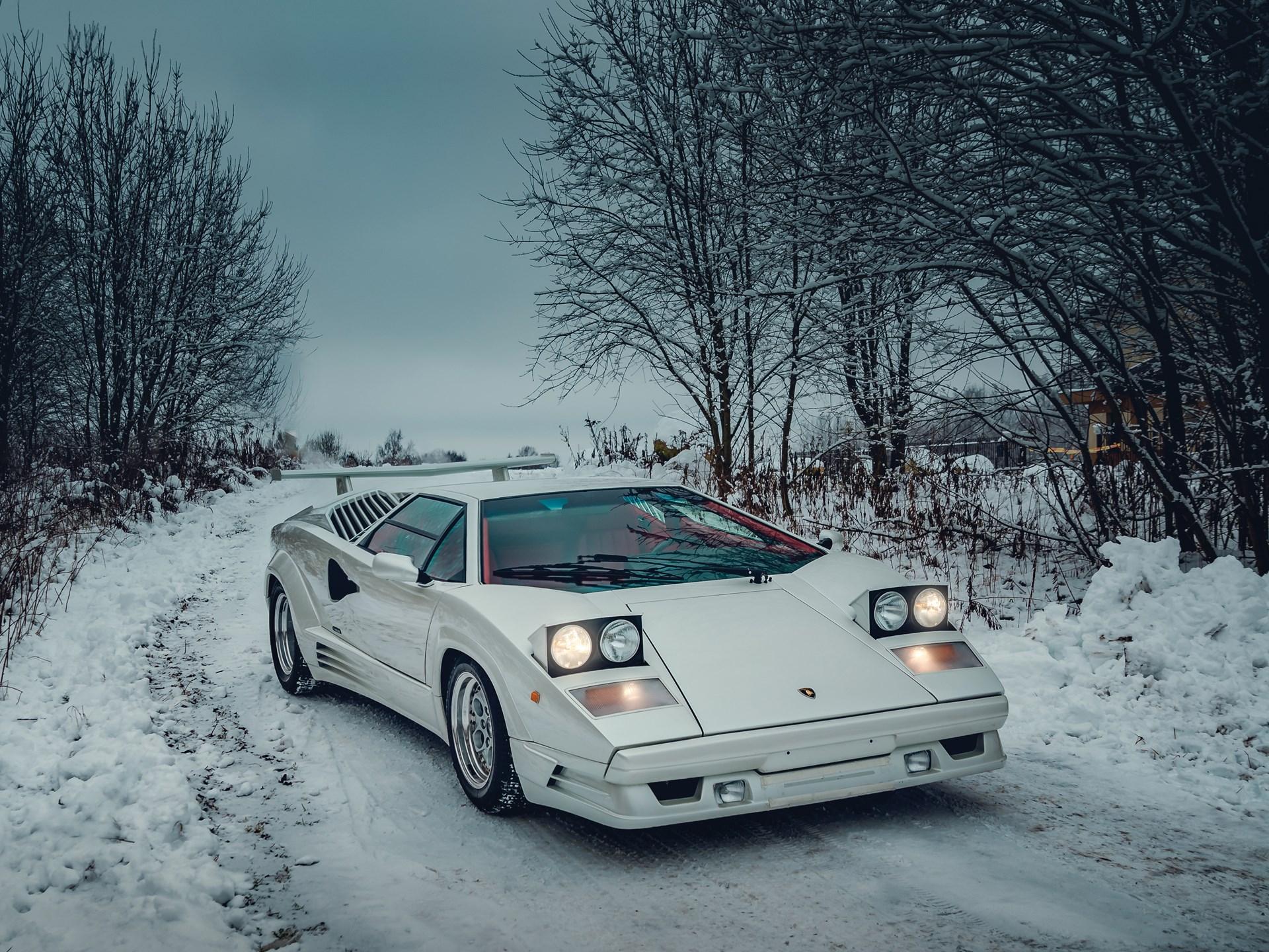 Rm Sotheby S 1991 Lamborghini Countach 25th Anniversary Paris 2018