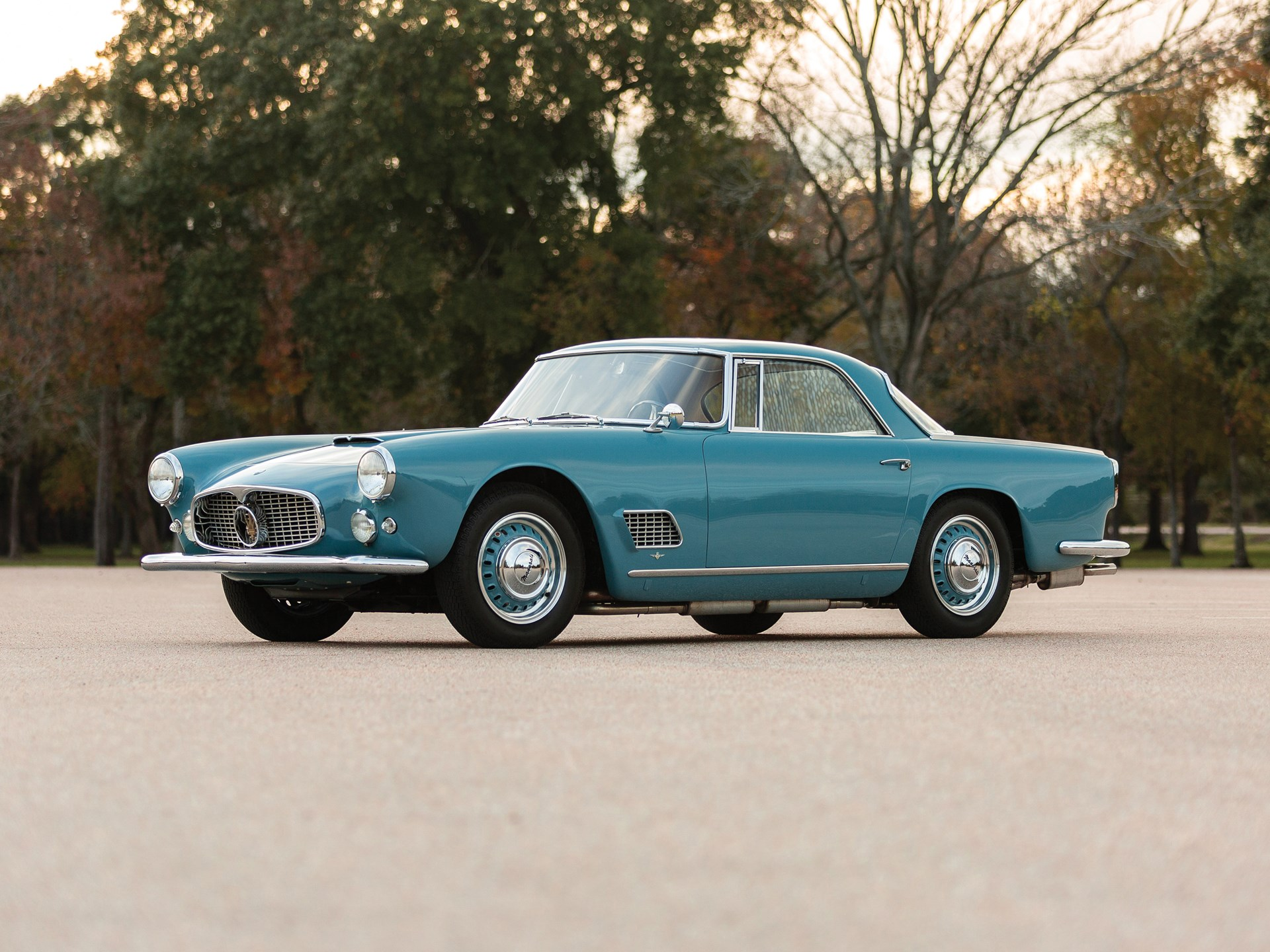 מקורי RM Sotheby's - 1959 Maserati 3500 GT by Touring | Arizona 2019 JQ-28