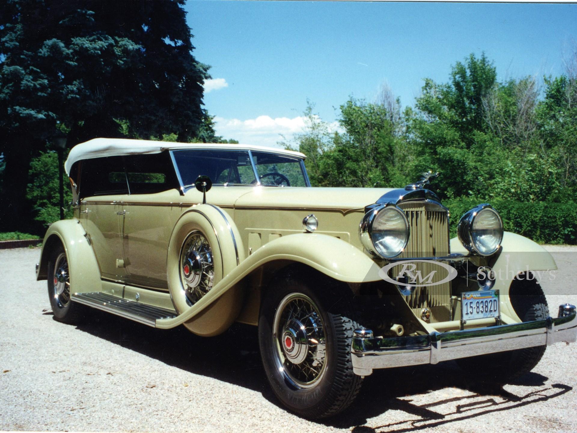 1932 Packard Super 8 Custom Dietrich Sport Phaeton