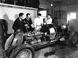 1935 Alfa Romeo Tipo C 8C 35  - $Engine number 50012, pictured in its original chassis, is fitted with a set of new Bowes Seal Fast spark plugs before the 1937 Indianapolis 500.