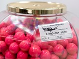 Dubble Bubble-Themed Vendmax 25¢ Gumball Machine - $