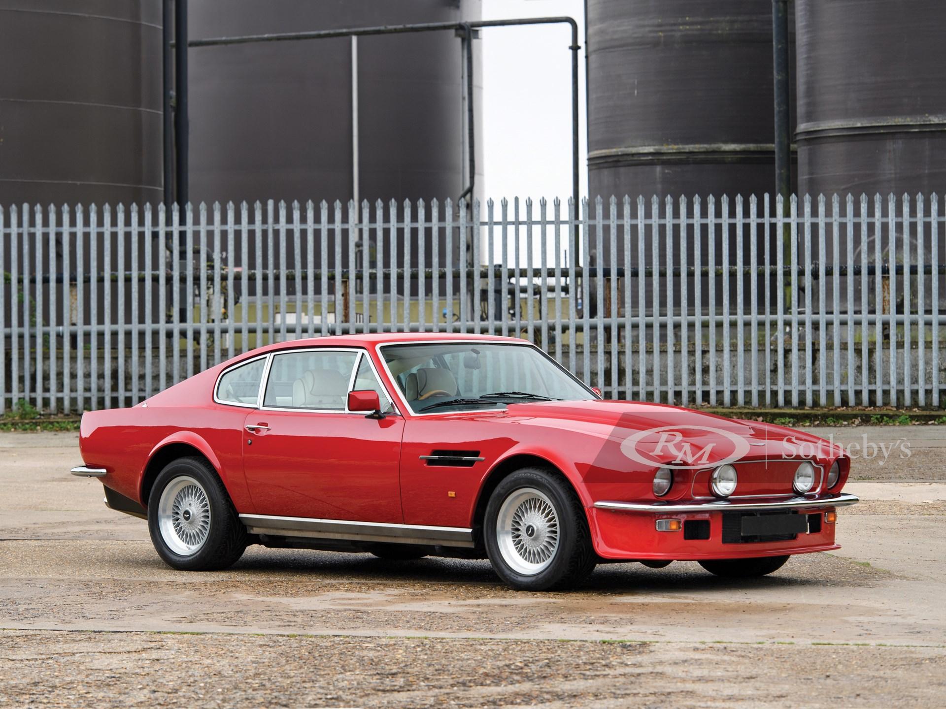 1988 Aston Martin V8 Vantage X Pack London 2019 Rm Sotheby S