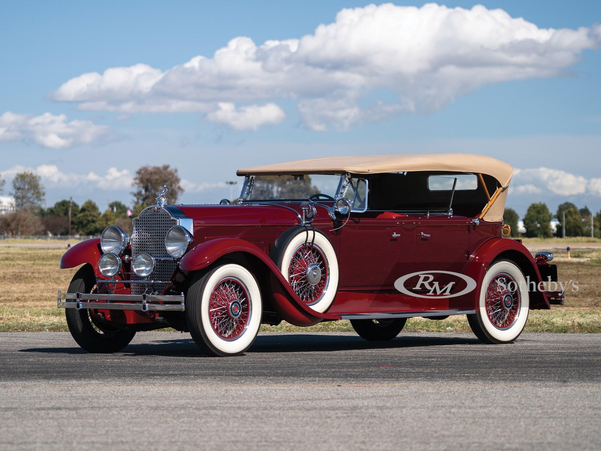 1929 Packard Deluxe Eight Sport Phaeton Phaeton by Dietrich