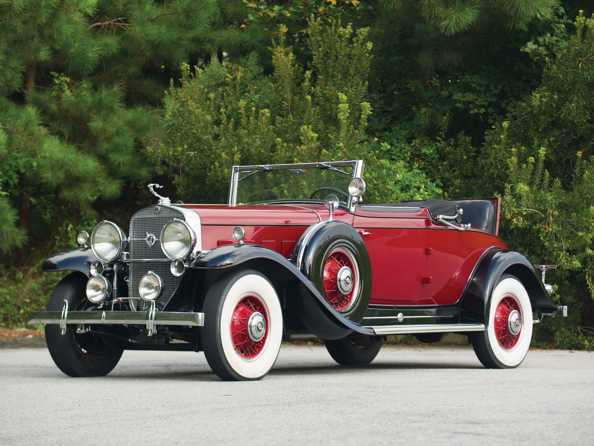 1931 Cadillac V 12 Convertible Coupe By Fleetwood