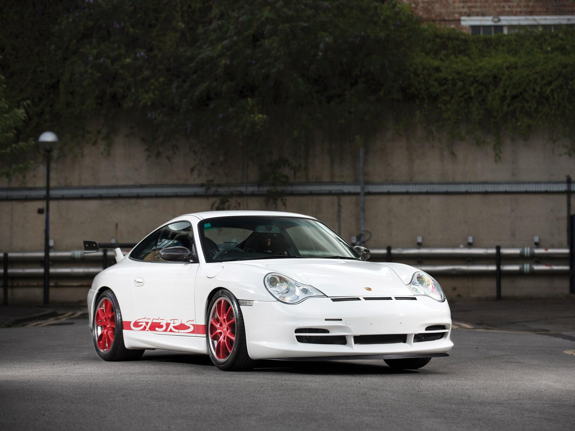 Rm Sothebys 2003 Porsche 911 Gt3 Rs London 2017