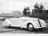 "1936 Lancia Astura Cabriolet Series III ""Tipo Bocca"" by Pinin Farina - $Finished exactly as it appears today, the ""Tipo Bocca"" is shown freshly completed in 1936."