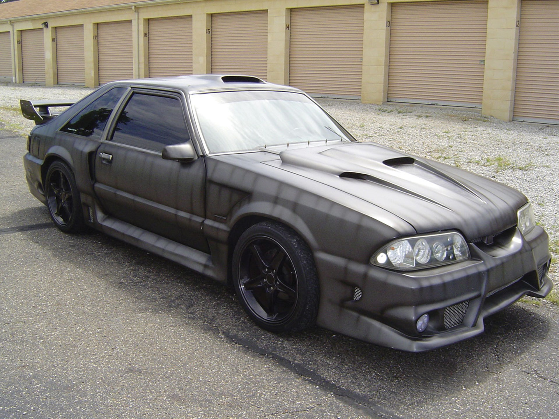 1988 ford mustang gt custom