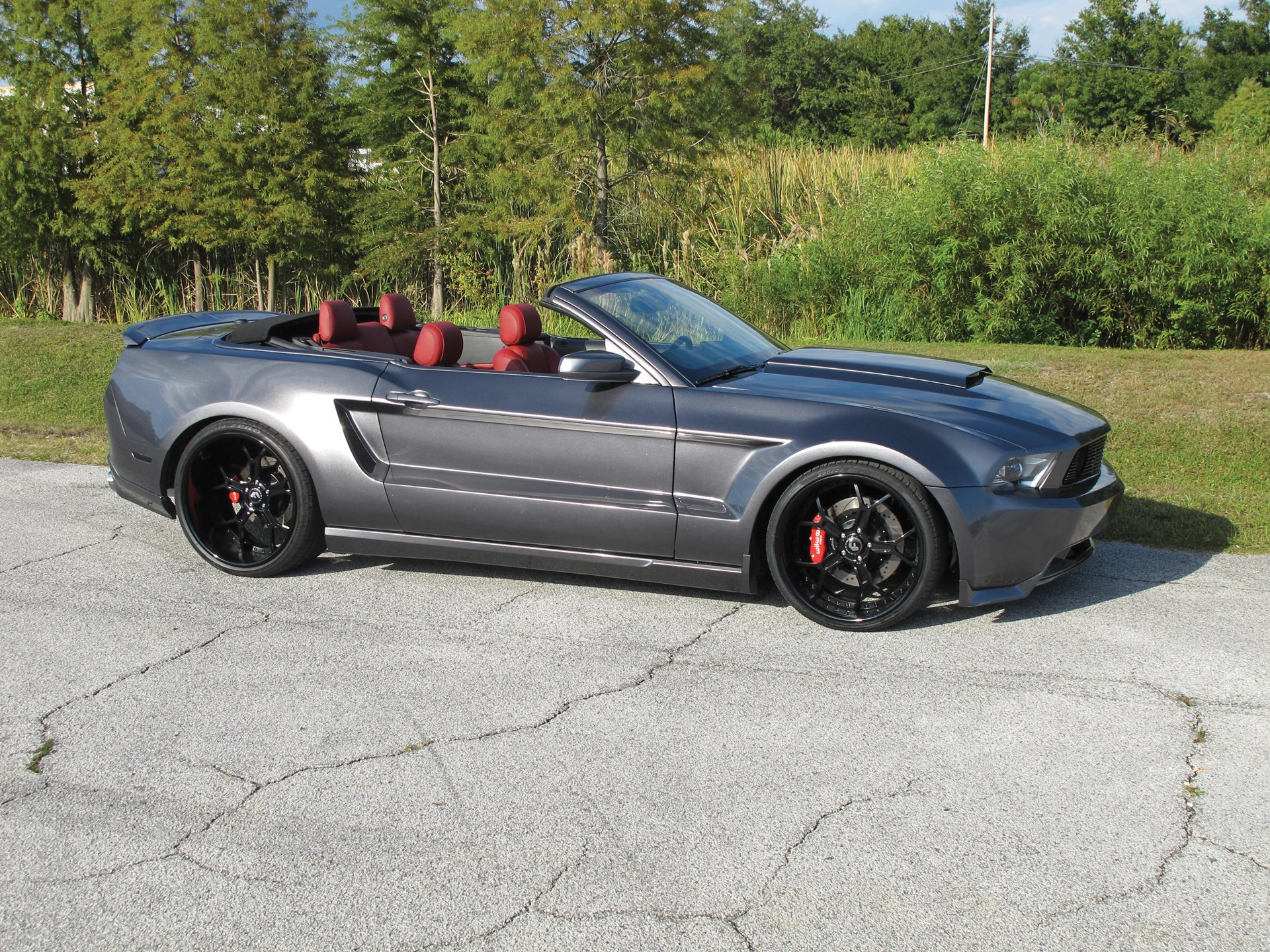 2012 ford mustang gt convertible custom
